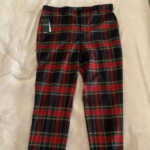 Lauren ralph lauren plaid Pants 8